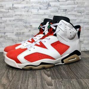 Air Jordan Retro 6 Gatorade White & Team Orange